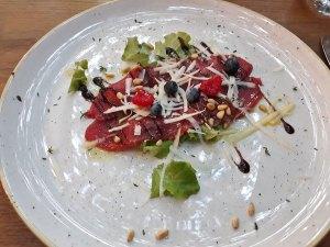 carpacio sa voćem majerija