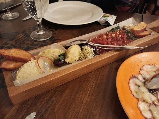 bakalar i tuna tartare