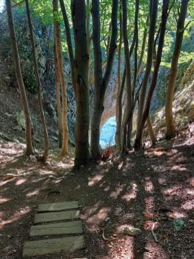 stopnice do Otliškeg okna