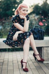 modcloth, vintage, heels, t strap, glamour