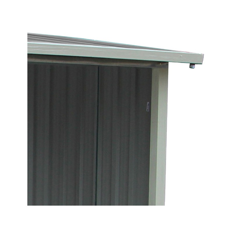 abri buches en metal anthracite 6