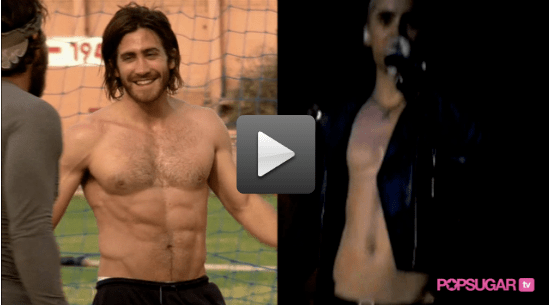 Video: Shirtless Jake Gyllenhaal And Jared Leto, Just For