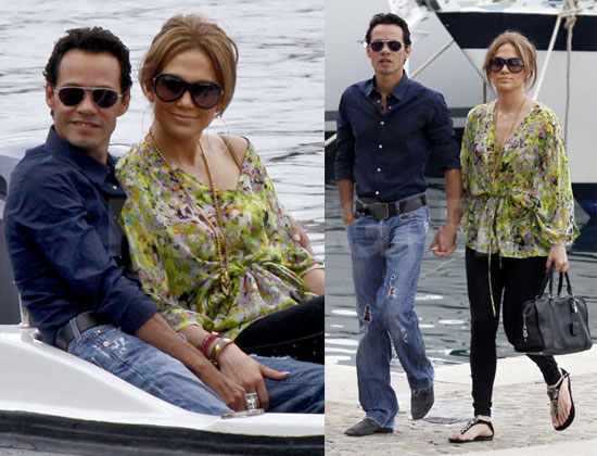 Pictures of Jennifer Lopez and Marc Anthony Going to ...
