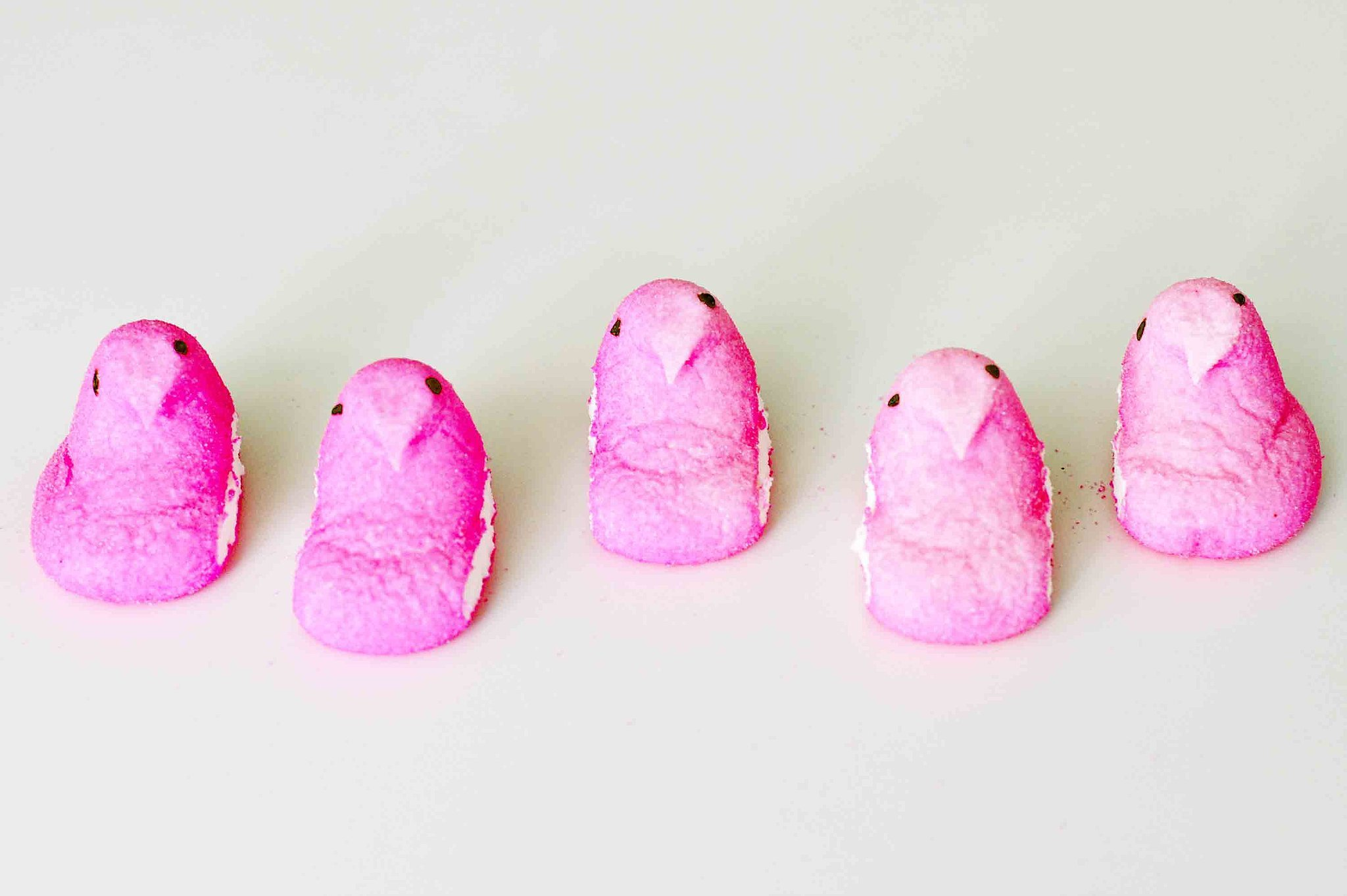 Pink chick peeps individual