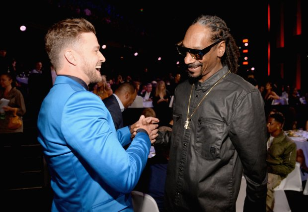 Justin Timberlake and Snoop Dogg