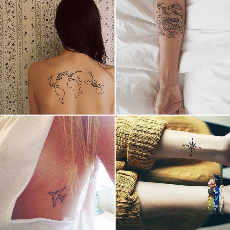 Travel Tattoos | POPSUGAR Smart Living