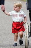 18 crepa non impressionata di principe George Faces That Will voi su
