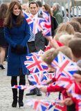 Principe William e Kate Middleton ha unuscita piccolissima adorabile in Scozia