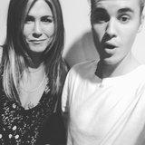 Justin Bieber rompe un Selfie con Jennifer Aniston   che cosa significa?