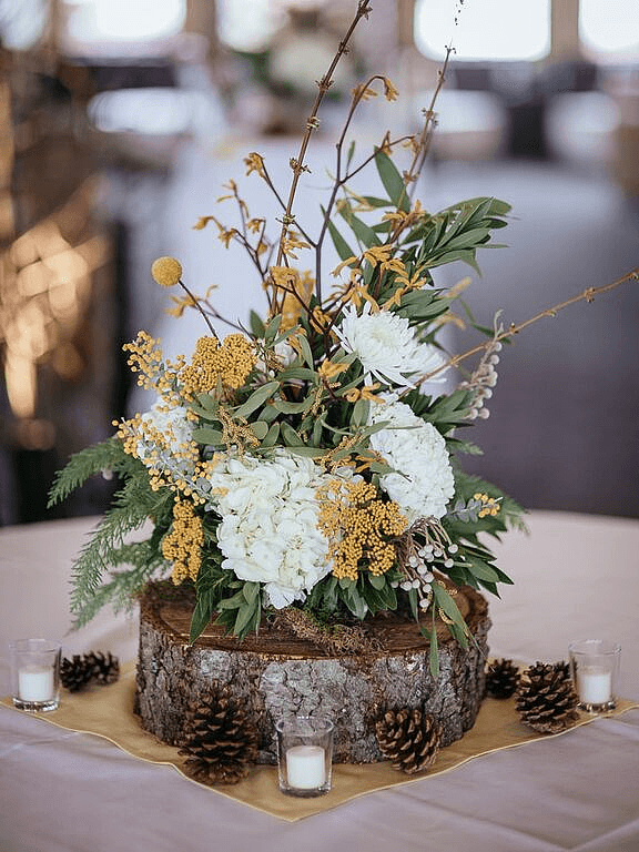 Feature A Rustic Centerpiece 30 Breathtaking Ways To
