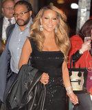 Le fermate di Mariah Carey trafficano in NYC essendo Mariah Carey