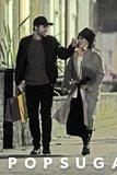 Robert Pattinson ed i ramoscelli di FKA prendono insieme una passeggiata dolce a Londra
