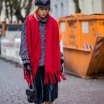 How To Wear A Scarf Outfit Ideas Popsugar Fashion