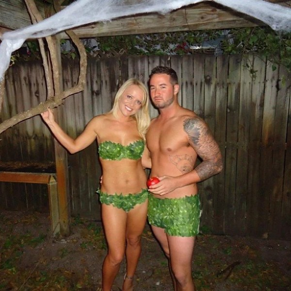 Adam and Eve | Sexy Halloween Costumes For Couples 2019 ...