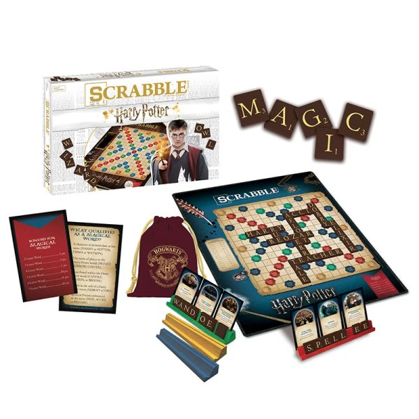 Everything in the Scrabble: World of Harry Potter Box