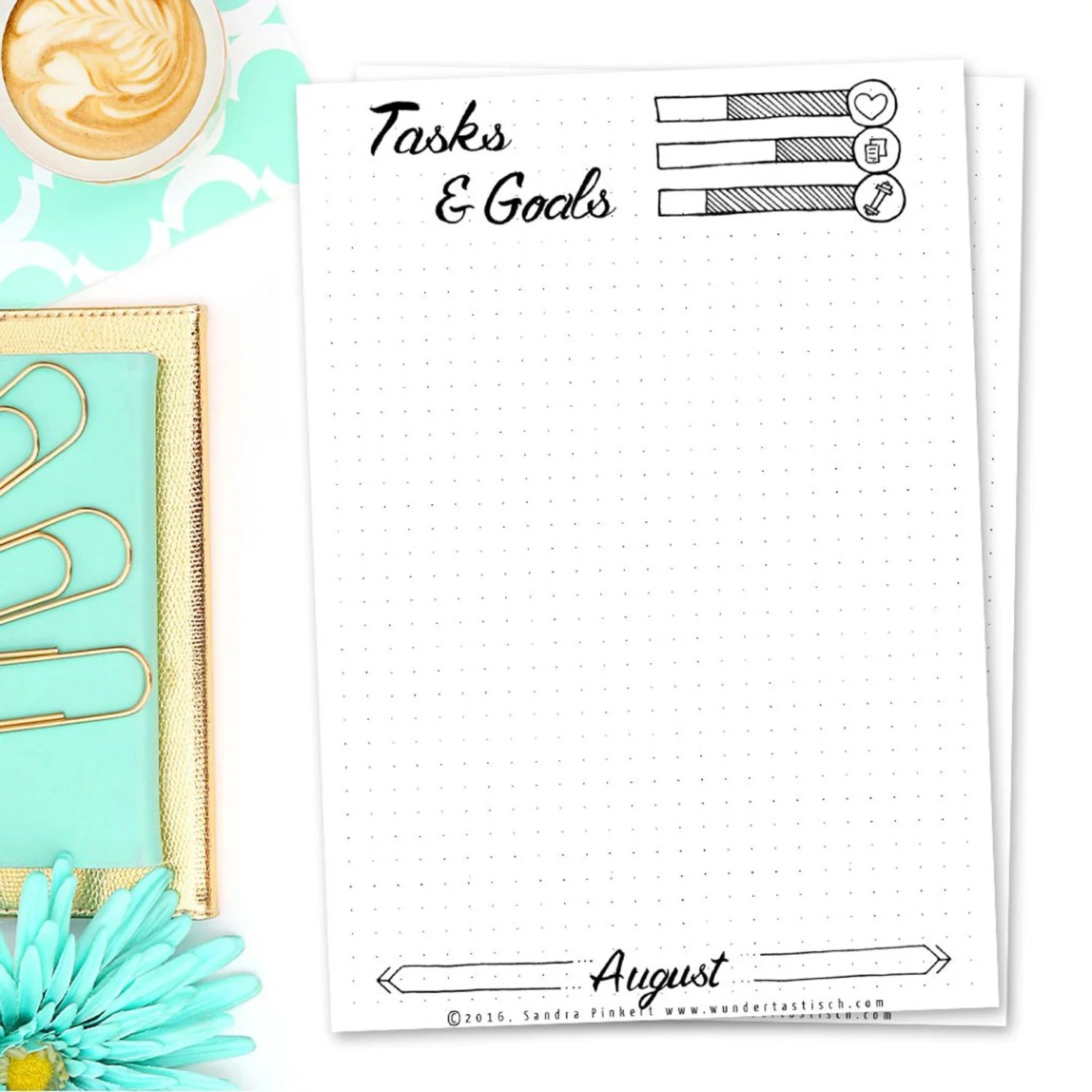 Printable Goal Sheets That Are Irresistible