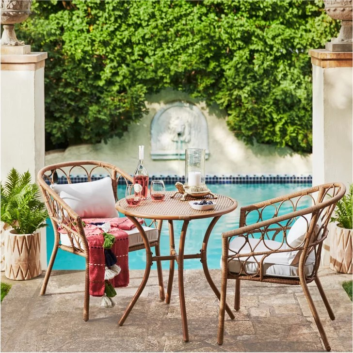 best target outdoor furniture for small