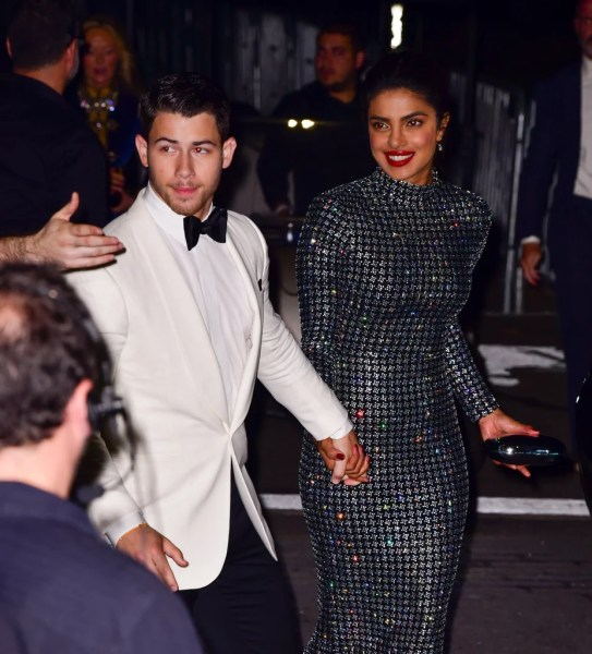 Priyanka Chopra and Nick Jonas at New York Fashion Week 2018     Priyanka Chopra and Nick Jonas at New York Fashion Week 2018