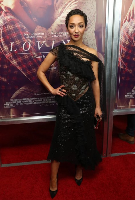 Ruth Negga Wearing Rodarte