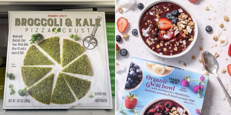 Hands Down, These Are the Best Healthy Finds in the Trader Joe's Frozen-Food Section