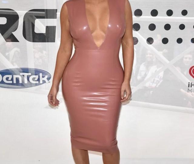 Kim Kardashian Nude Outfits