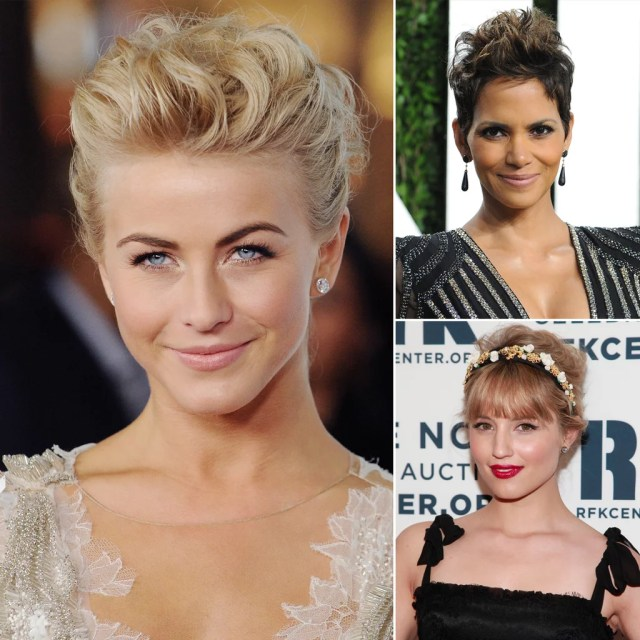 pictures of wedding hairstyles for short hair | popsugar