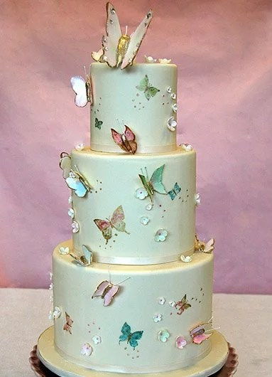 Butterfly Wedding Cakes Photo 3 Butterfly Wedding Cakes