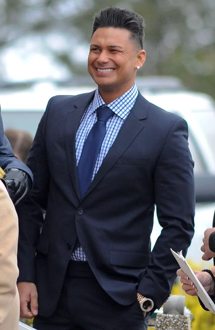Paul DelVecchio Aka Pauly D Suited Up For The Affair