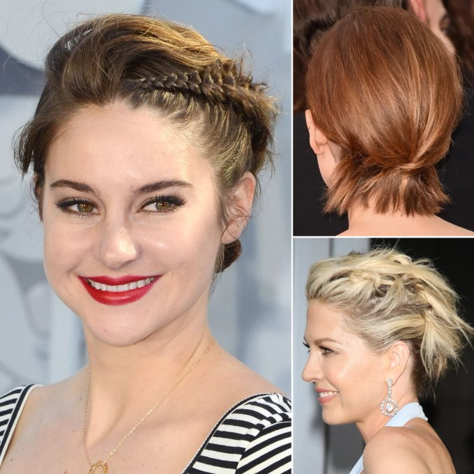 how to do updos for short hair and bobs | popsugar beauty