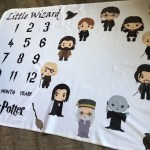 Little Wizard Month Photos Blanket 25 Harry Potter Approved Baby Shower Gifts That Are Downright Magical Popsugar Family Photo 19