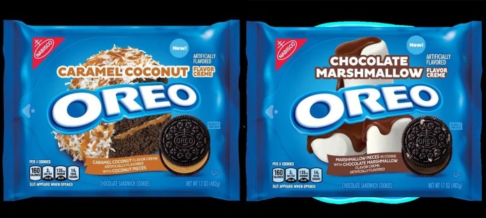 Oreo Is Releasing Chocolate Marshmallow and Caramel Coconut Flavors in 2020!