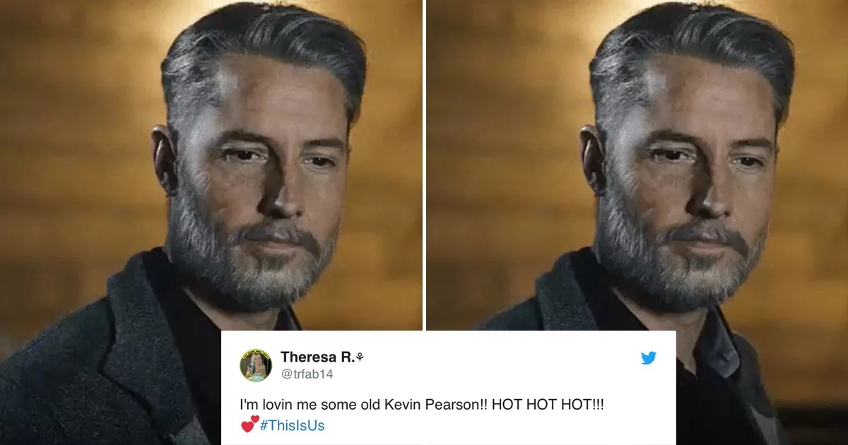 Of Course Kevin Pearson Is a Sexy Silver Fox in the Flash-Forward on This Is Us