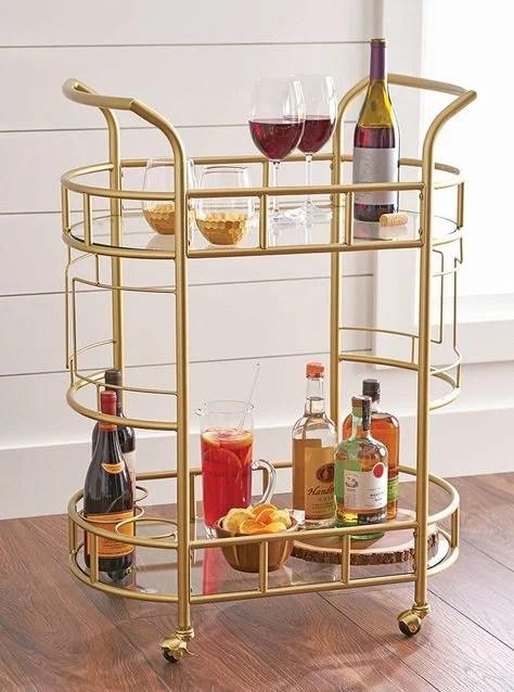 best bar carts under 100 popsugar home
