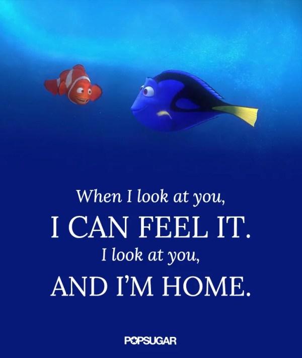 Finding Nemo | Disney Love Quotes | POPSUGAR Love & Sex ...