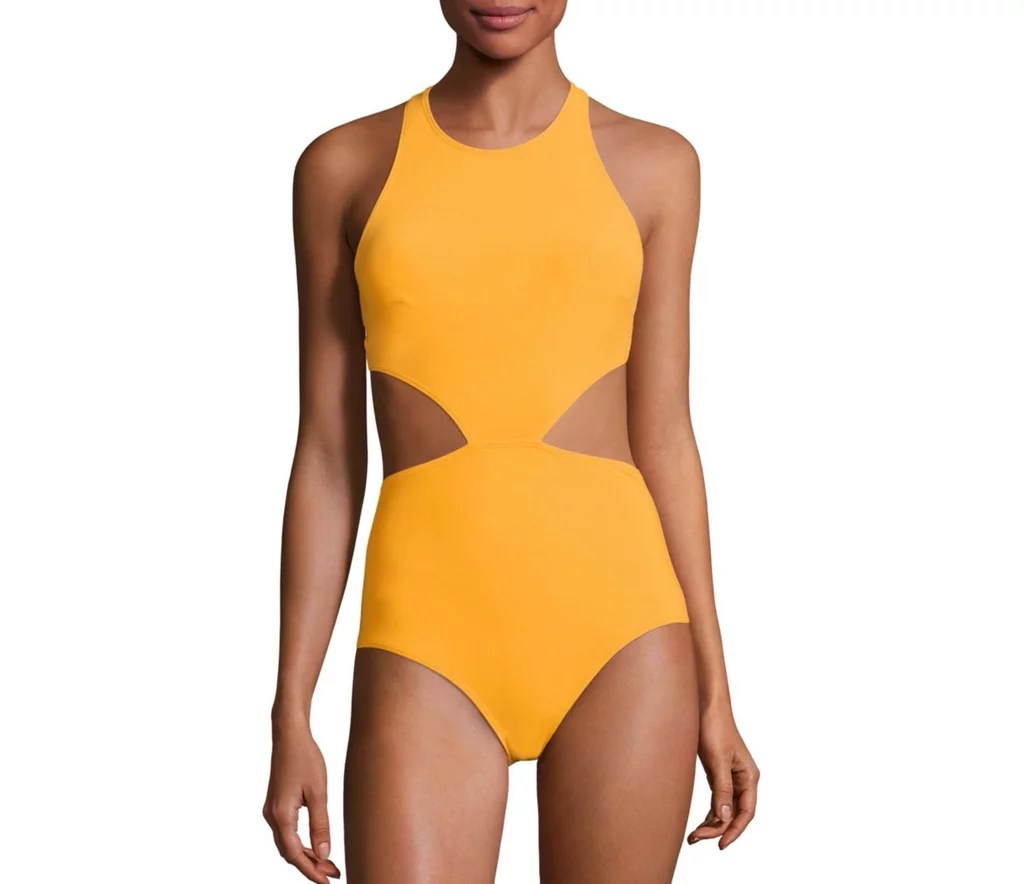 Look brighter than sunshine in this Flagpole Lynn One-Piece Swimsuit ($375).