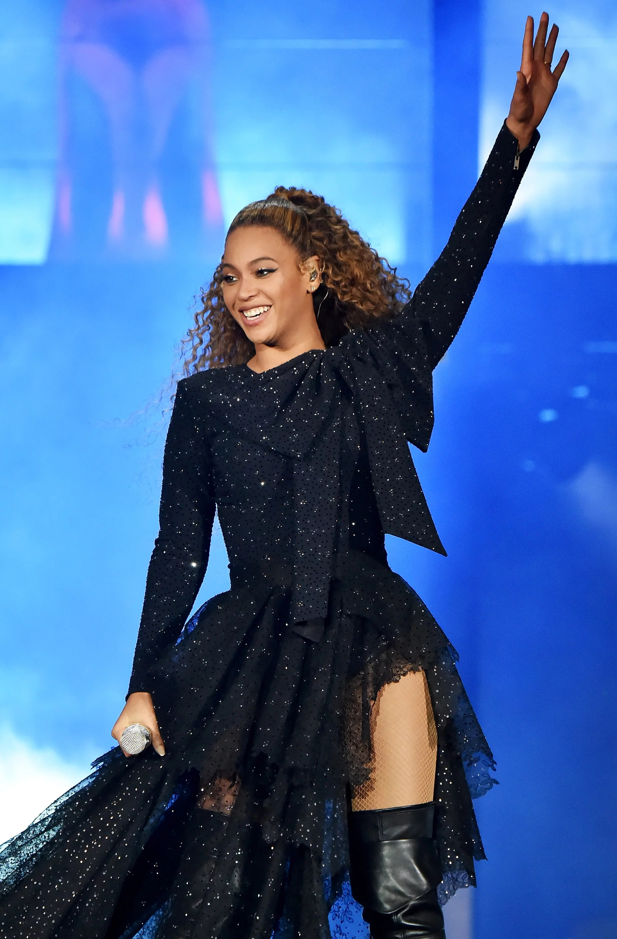 Beyonc Wishes Sir And Rumi A Happy Birthday During Concert POPSUGAR Celebrity Australia