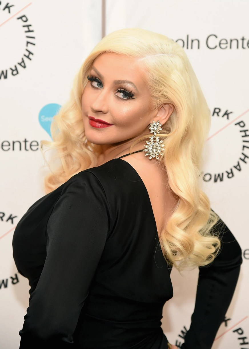 NEW YORK, NY - DECEMBER 03:  Christina Aguilera attends Sinatra Voice for A Century Event at David Geffen Hall on December 3, 2015 in New York City.  (Photo by Michael Loccisano/Getty Images)