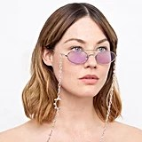 Linda Farrow x Alessandra Rich 2 C1 Oval Sunglasses
