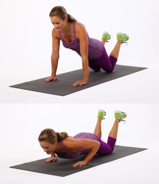 Image result for push up knee