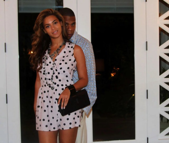 Beyonce Knowles And Jay Z Took A Sweet Candid