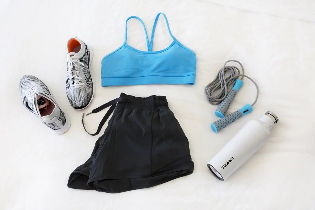 Reorganize Your Workout Gear
