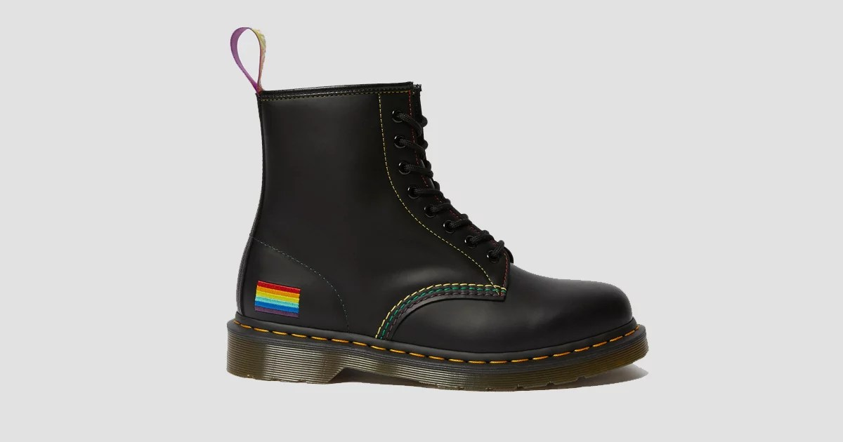 Oh My Gosh! Dr. Martens Just Released Rainbow-Accented Combat Boots to Celebrate Pride Month