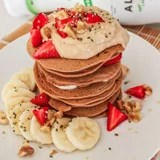 Healthy Vegan Ginger Pancake Recipe