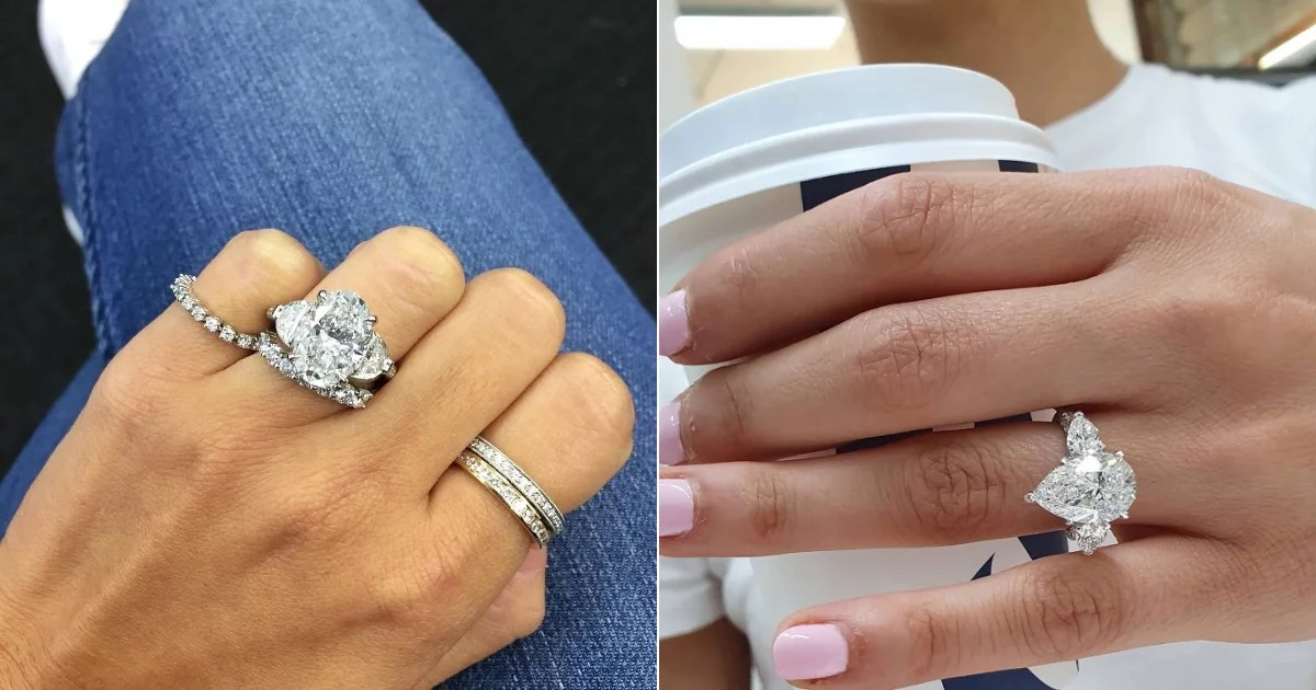 75 Real-Girl Engagement Rings Massive Enough to Ice-Skate On