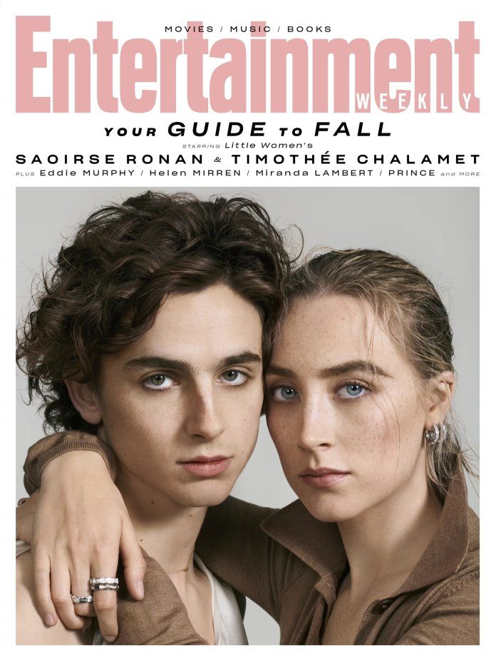"""Saoirse Ronan and Timothe Chalamet, BFF Targets, on Little Girls: """"It's a Story Full of Love"""""""