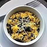Quinoa and Egg Scramble With Spinach