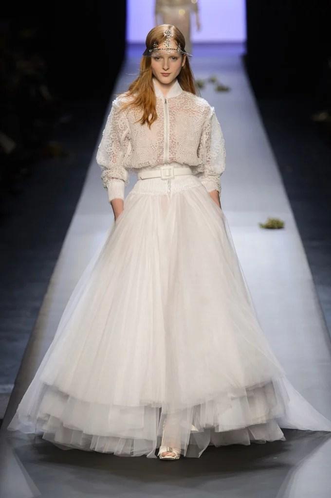 Jean Paul Gaultier Haute Couture Spring 2015 Wedding