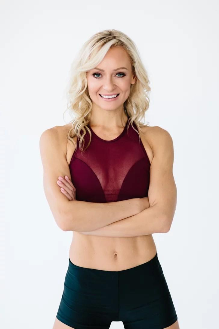 Simone De La Rue Diet Popsugar Fitness