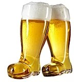 Beer Boot Glass Set