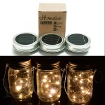 3 Pack White Led Fairy Mason Jar Lanterns 31 28 Inspiring Patio Decor Ideas From Amazon Prime Just In Time For Summer Popsugar Home Photo 23